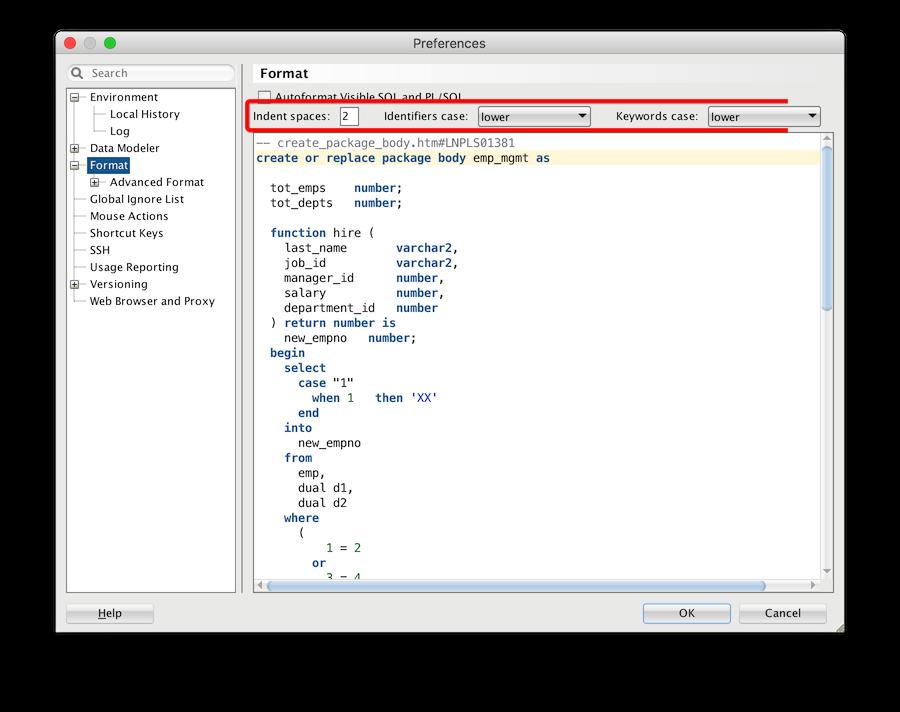 Top Oracle SQL Developer Data Modeler Settings | TalkApex