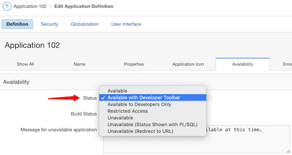 How to Disable an APEX Application During a Release | TalkApex